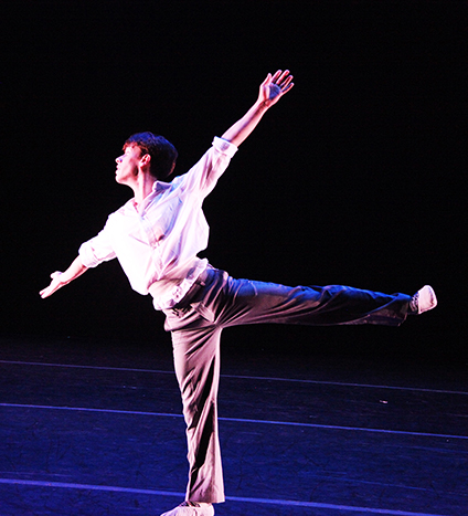 Bailarino Ivan Duarte