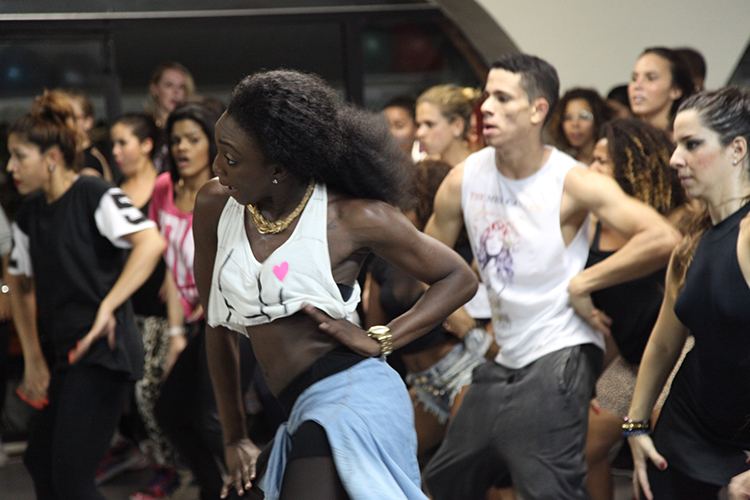 Workshop com Mrs Carters Dancers (Grupo de bailarinos da Beyoncé)