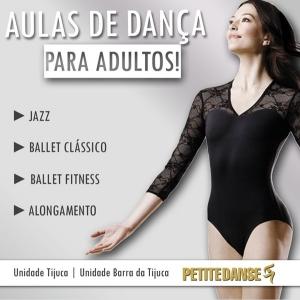 Adultos também podem dançar!
