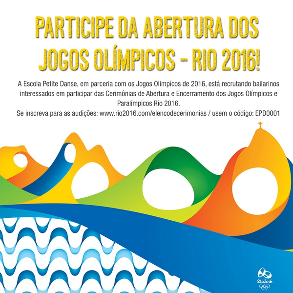 Elenco de Cerimônias Rio 2016