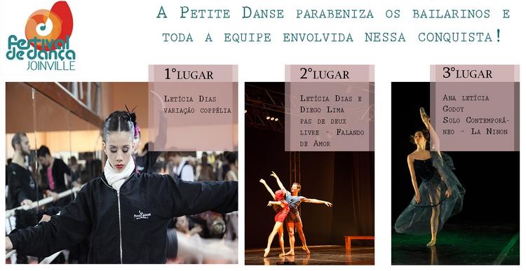 Resultados do tradicional Festival de Dança de Joinville 2013