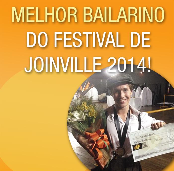 Melhor Bailarino do Festival de Joinville 2014