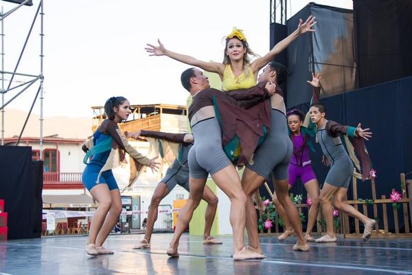 Cia Dançar a vida em turne no Chile