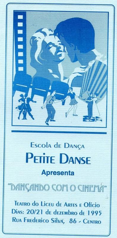 Dançando com o Cinema | Escola de Dança Petite Danse
