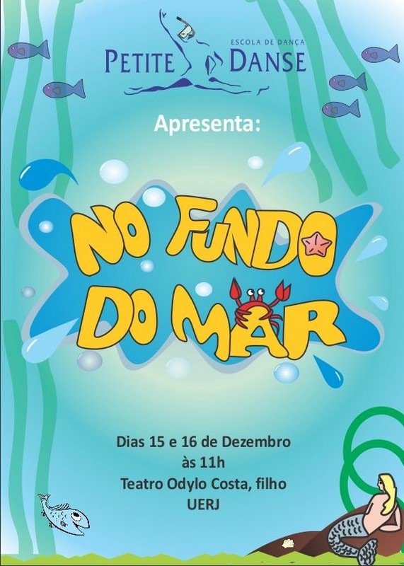 No Fundo do Mar | Escola de Dança Petite Danse