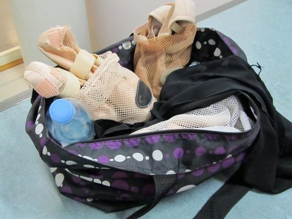 O que toda bailarina deve ter na bolsa