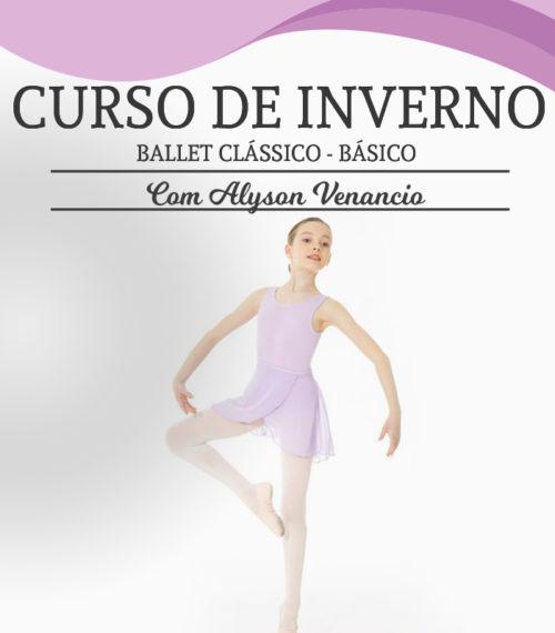 Curso de Inverno da Escola de dança Petite Danse - Curso de Ballet Clássico Básico