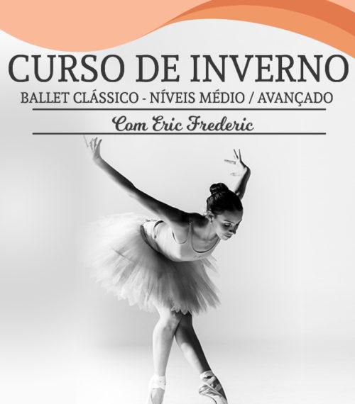 Curso de Inverno da Escola de dança Petite Danse - Curso de Ballet Clássico Médio e Avançado